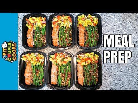 How To Meal Prep - Ep. 58 - SALMON MANGO SALSA