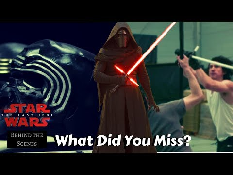 What you Missed From the Behind the Scenes Trailer - Star Wars The Last Jedi D23