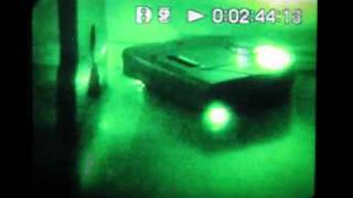 Repeat youtube video Near infrared video of Neato robotic vacuum cleaner and RPS laser at work - #2
