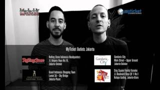 Greetings From Linkin Park For A THOUSAND SUNS TOUR 2011 - cumicumi.com