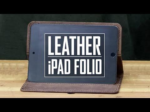 39 - Leather iPad Folio