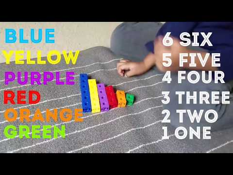 Learn Colors Fine Motor Toys Numbers Kindergarten Montessori Toddler Baby Early Learning Autism