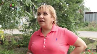 "Марина Федункив на съемке рекламы для склада-магазина ""Семафор"""