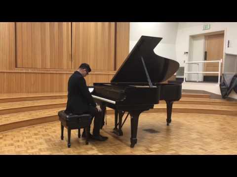 Piano audition Long Beach City College. Nocturne Chopin Op. 9 No. 2. Tarantella Pieczonka.