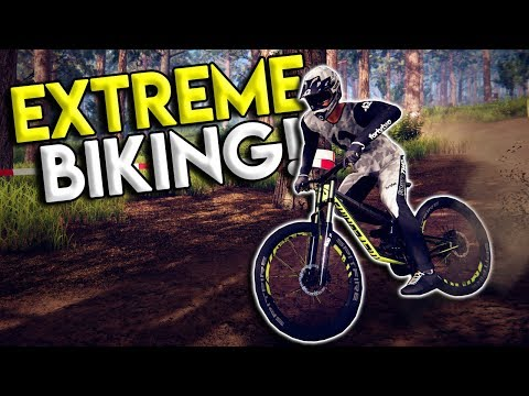 WORLDS MOST EXTREME MOUNTAIN BIKE RACES & CRASHES! - Descenders Gameplay  - Full Release
