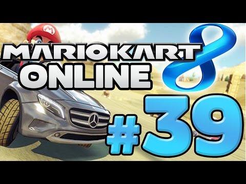 MARIO KART 8 ONLINE # 39 ★ Mercedes Benz DLC [HD]
