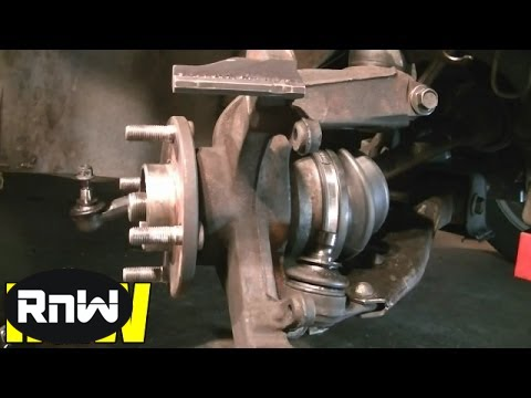 How To Replace The Wheel Bearing And Hub Embly On A Ford Focus Part 2