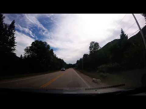 Atlantic Canada Vid 7 - Cabot Trail - Ingonish to Cheticamp Dashcam Realtime