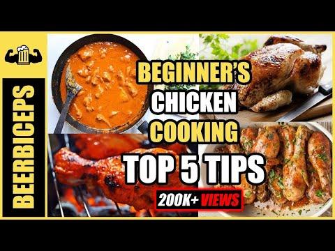 Beginner's CHICKEN Cooking - Top 5 Tips | BeerBiceps Cooking Tutorials