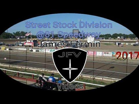 Street Stocks #12, Heat, 81 Speedway, 2017