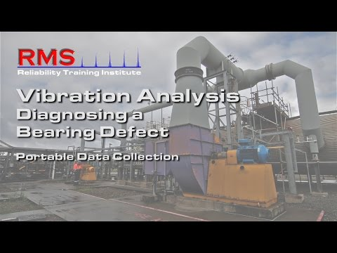 Vibration Analysis - Diagnosing A Bearing Defect (Real World)