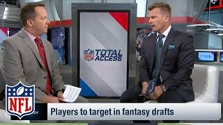 Fantasy Draft: WR, RB, TE to Target in Middle Rounds | NFL