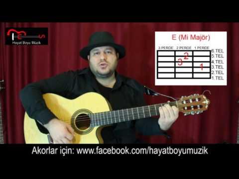 Gitar Dersi - Aman Aman - Duman ( Gitar - Repertuar - Orta Seviye Şarkı)