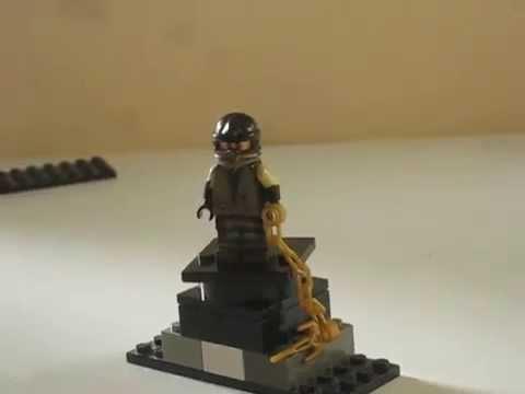 Custom lego gold scorpion and raiden - Mortal Kombat - YouTube  Custom lego gol...
