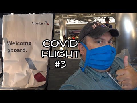 What's It Like Flying With American Airlines During Covid?