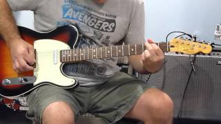 The Eagles - Victim of Love - guitar cover & intro lead lesson