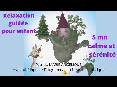 RELAXATION guidée pour ENFANT. La baguette magique. (5 min)
