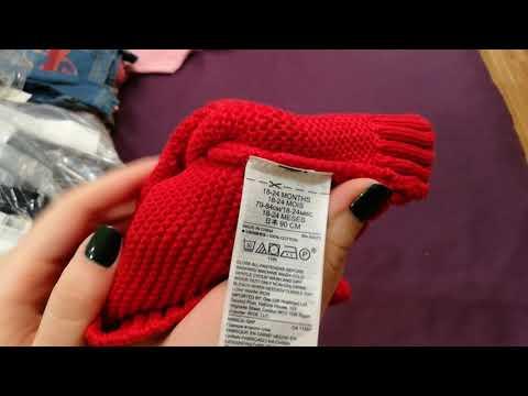 Распаковка посылочки из Америки детская и взрослая одежда Gap, Ralph Lauren