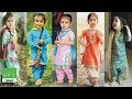 Latest Punjabi suits designs for baby/girls kids 2018