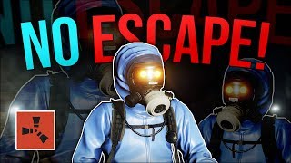 NO ESCAPE! - Rust Trio Survival #9