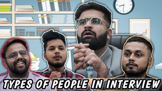Types of funny people in interviews  RISEOFTHEBHAI39;s