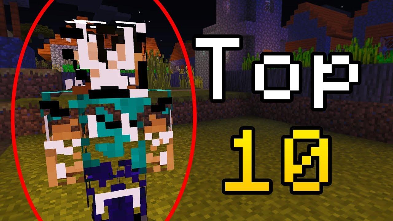 Top 9 Creepy Minecraft Hackers! (Top Minecraft Hackers)