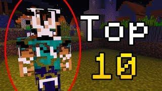 Top 10 Creepy Minecraft Hackers! (Top Minecraft Hackers)