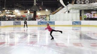 Моя тренировка по фигурному катанию(По Вашим просьбам выкладываю видео моей тренировки по фигурному катанию. Моя страничка ВКонтакте: http://vk.com/l..., 2015-12-13T19:29:45.000Z)