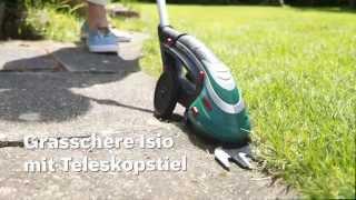 Bosch stellt vor: Akku-Grasschere Isio