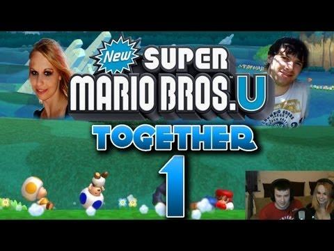 Let's Play Together New Super Mario Bros U Part 1