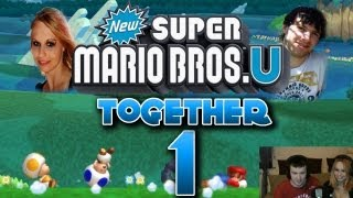 Let's Play Together New Super Mario Bros U Part 1