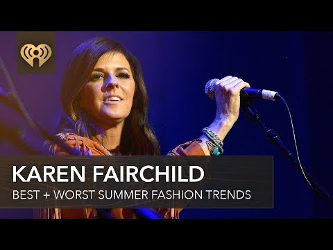 Gina - iHeartCountry: Little Big Town's Karen Fairchild's Summer Fashion Tips