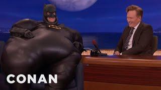 "Why Adam Pally Is Dressed Like ""Fatman"