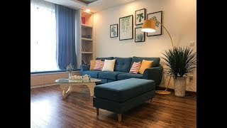 Full nội thất căn hộ 100m2 ở Hà Nội với chỉ 120 triệu đẹp ngây ngất