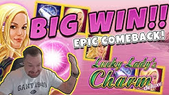 Huge Win! Lucky ladys charm BIG WIN - Epic Win on Casino games from Casinodady