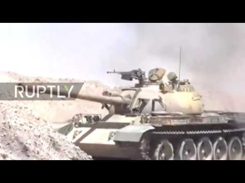 Syria: SAA launches attack on IS positions in eastern Homs