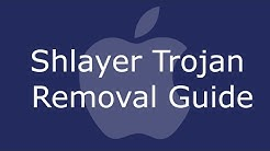 Remove Shlayer Trojan