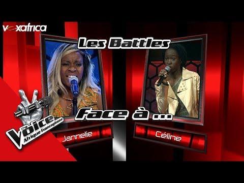 Jannelie Vs Céline « Makolo Ya Massiya » De Carlyto Yassa I Les Battles The Voice Afrique 2017