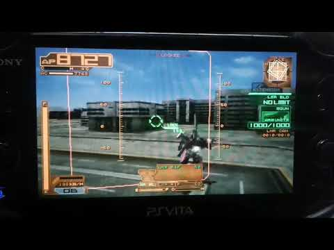 Armored Core: Silent Line Replay On My PS Vita