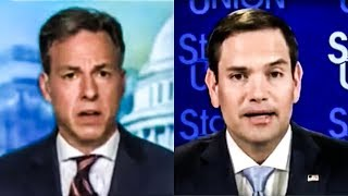 Jakes Tapper Calls Out Marco Rubio's Total Climate Ignorance