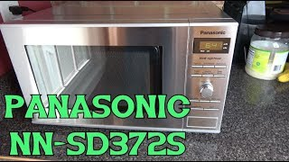 Panasonic NN-SD372S microwave review