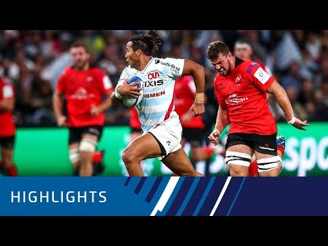 Racing 92 V Ulster Rugby (P4) - Highlights 20.10.2018