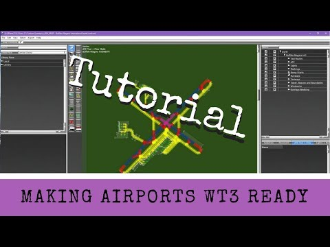 X-Plane 11 - Tutorial: Making Airports WT3 Ready