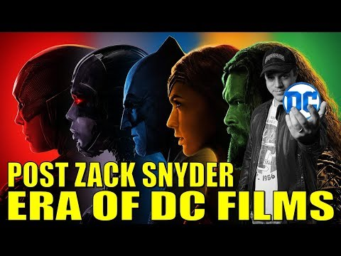 Post Zack Snyder ERA OF DC FILMS - Geoff Johns Interview?