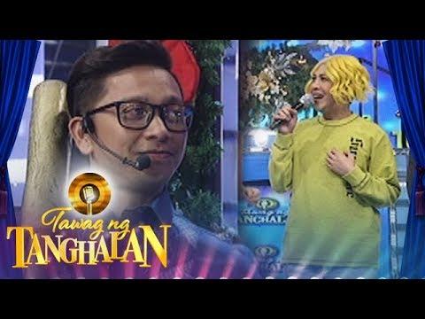 Tawag ng Tanghalan: Vice commends Jhong Hilario's handsomeness