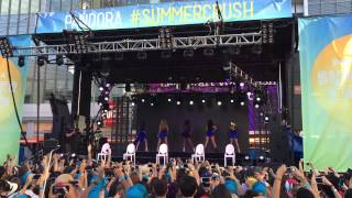 [081515] Fifth Harmony - Intro + Bo$$ @ Pandora Summer Crush