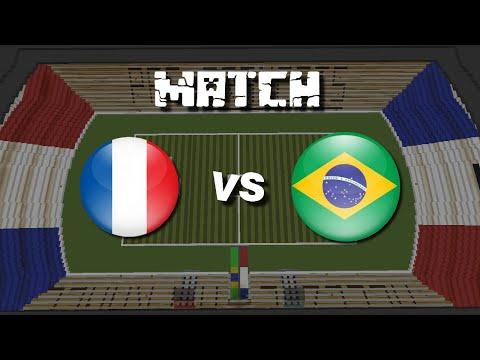 Match De Foot Sur Minecraft N°6 : France - Brésil