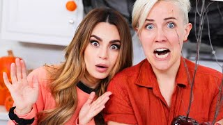My Drunk Kitchen ft. Rosanna Pansino: Creepy Candy Apples!