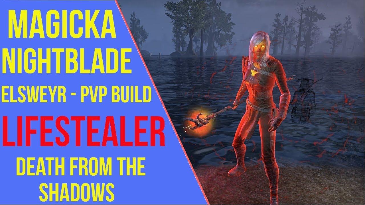 Magicka Nightblade PVP Build - Lifestealer - ArzyeLBuilds