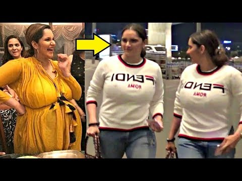Sania Mirza Weight Loss After Delivery Is Amazing!